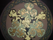 Celtic Round detail